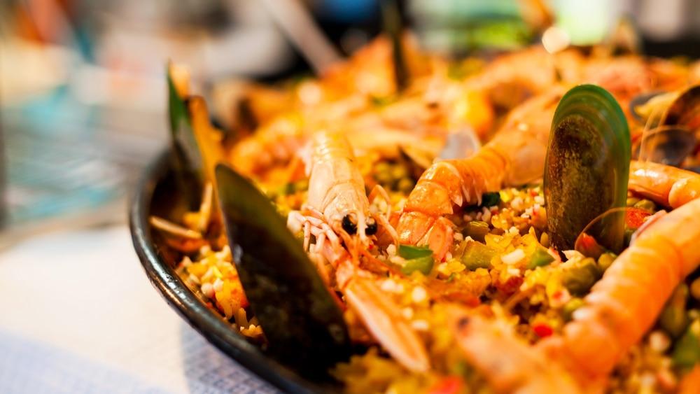 Paella-Gericht