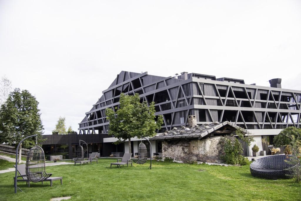 Naturhotel Pfösl, hervorragender Spa, gute regionale Kuche, Zimmer mit Blick auf die Berge