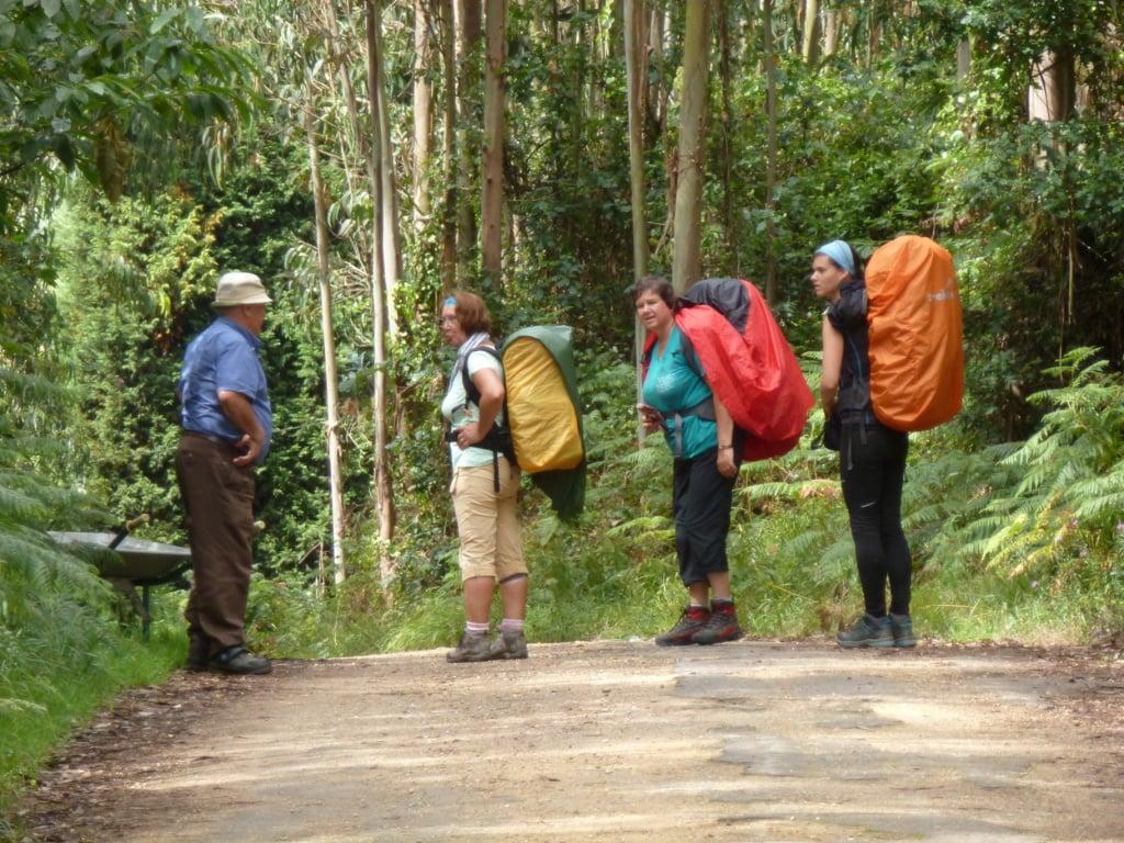 Pilger auf dem Camino del Norte