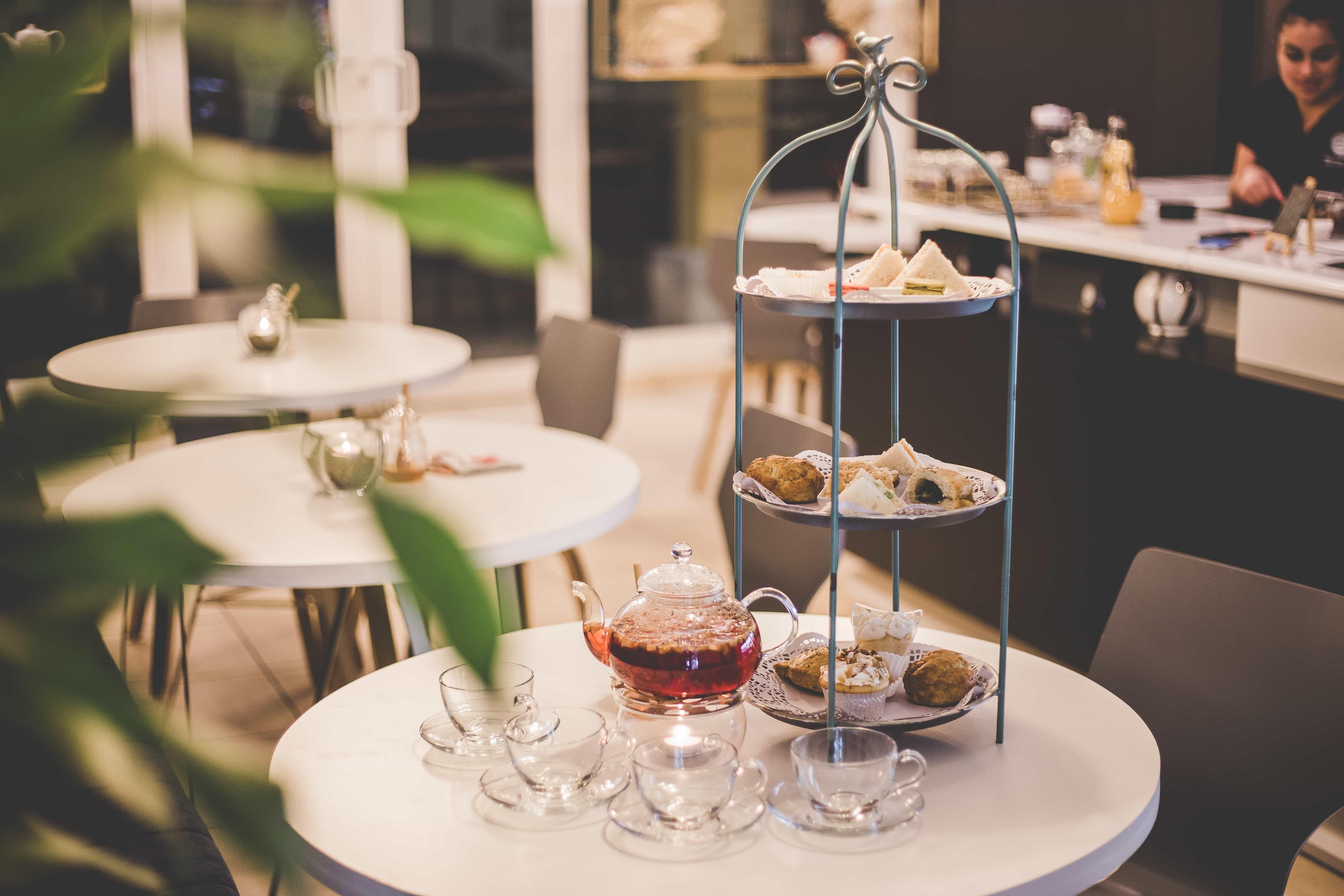 Typisch britischer Afternoon Tea