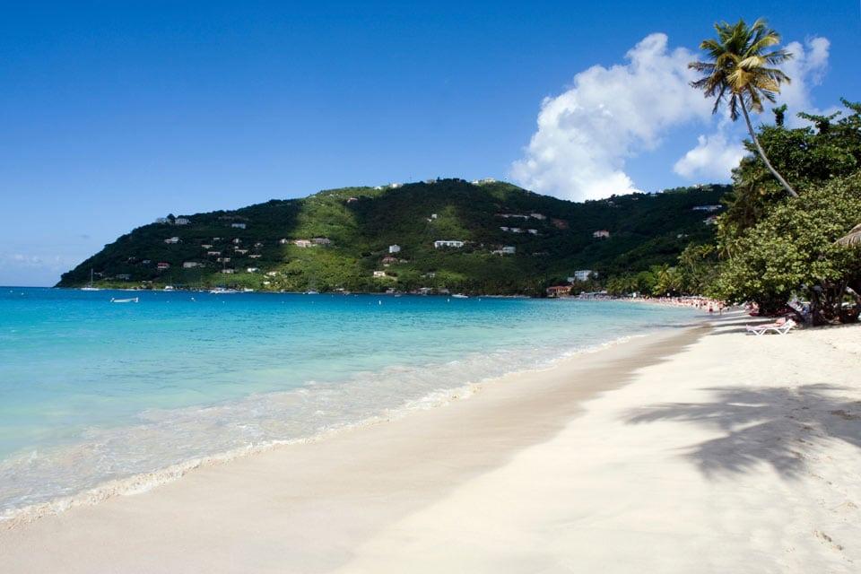 Cane Garden Bay auf Tortola