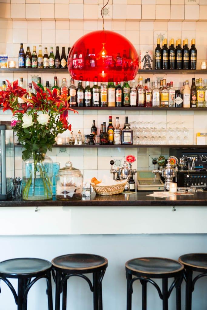 Interior im Cafe Zondag