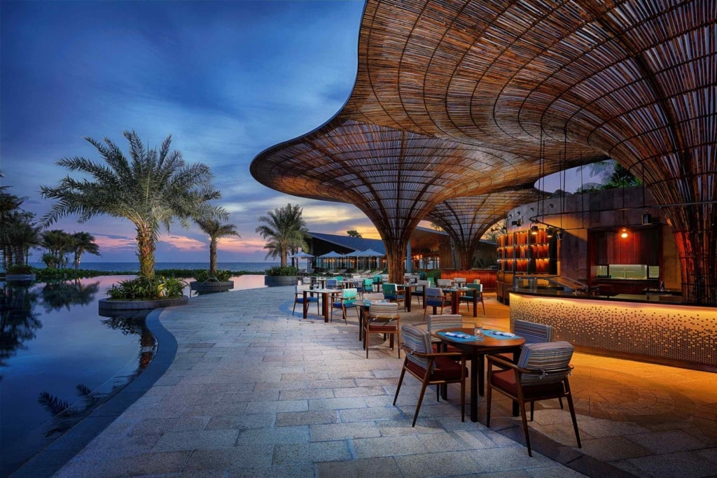 Restaurant Ombra im InterContinental Phu Quoc Long Beach