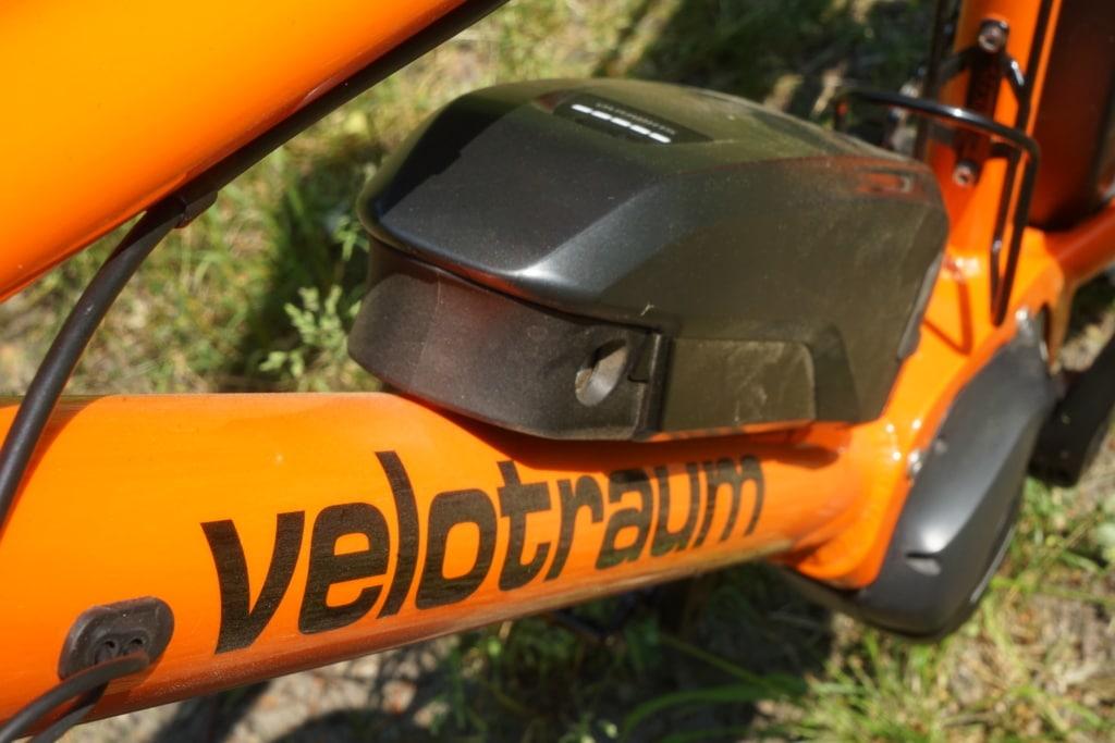 Akku des E-Bikes Velotraum