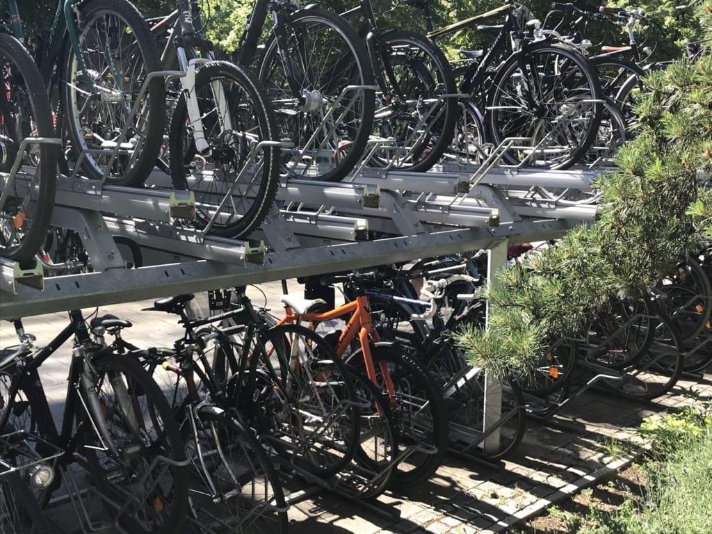 Parken mit dem E-Bike in Berlin