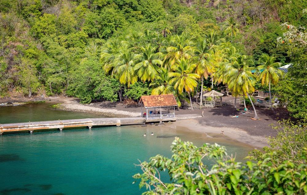 Anse-Noire-Strand auf Martinique