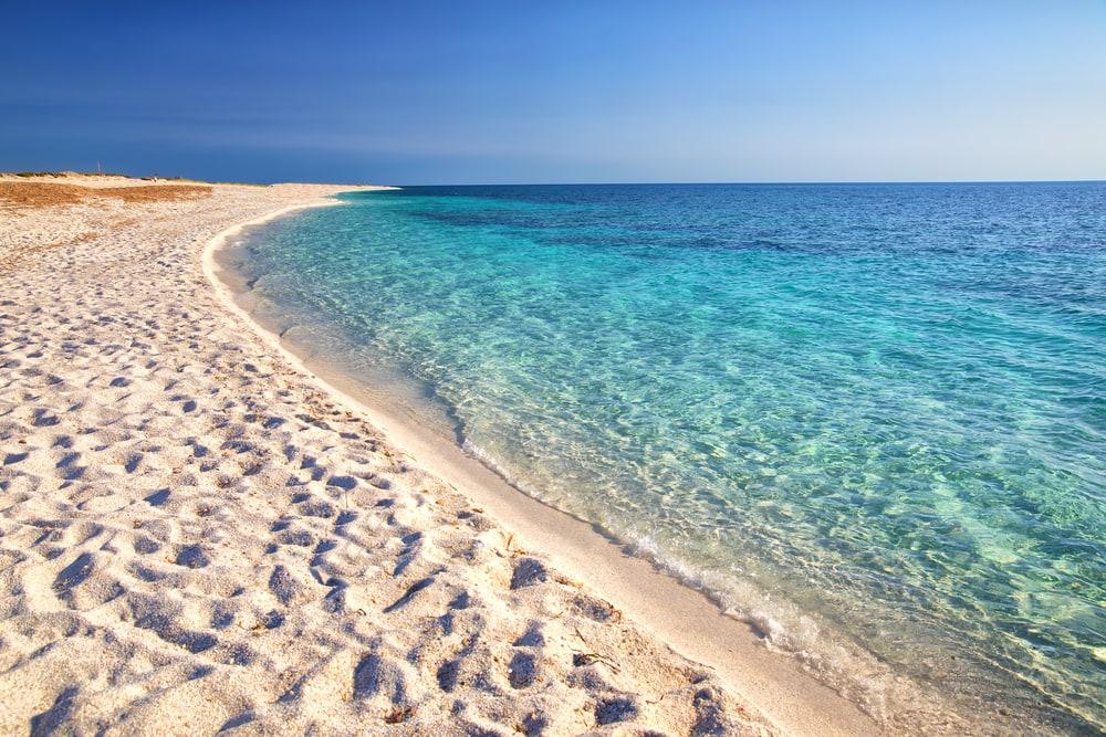 Arutas Beach in Sardinien