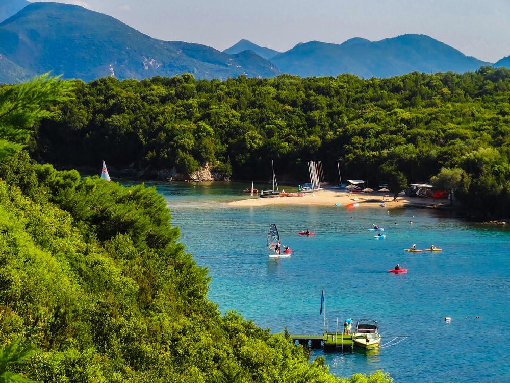 Bella Vraka Strand in Griechenland