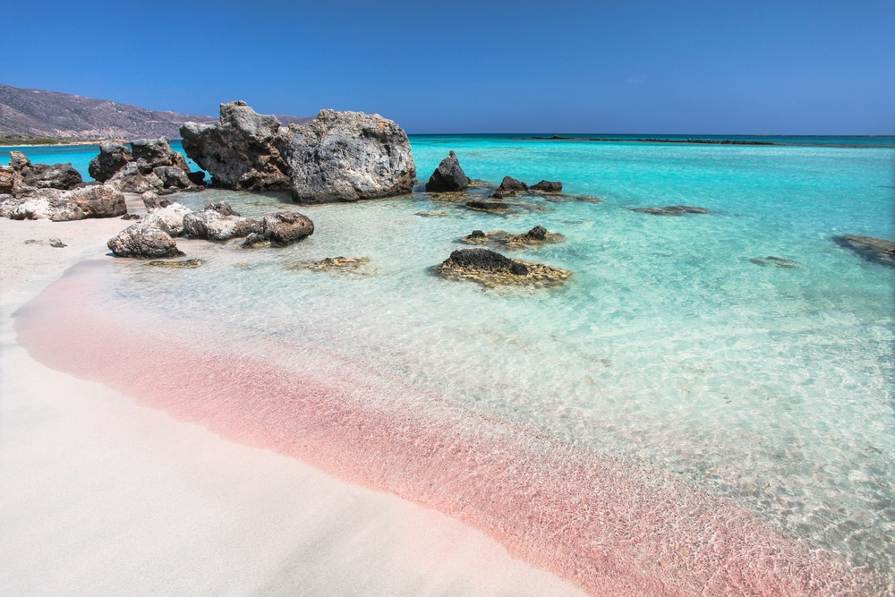Elafonissi Beach in Griechenland