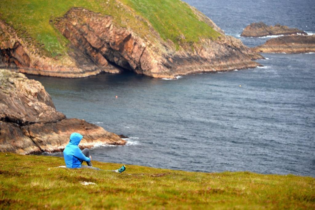 Erris Head ganz im Westen Irlands zeigt das Land von seiner ursprünglichen Seite, so wie hier im Ballycroy National Park.