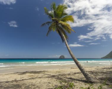 Le-Diamant-Strand auf Martinique