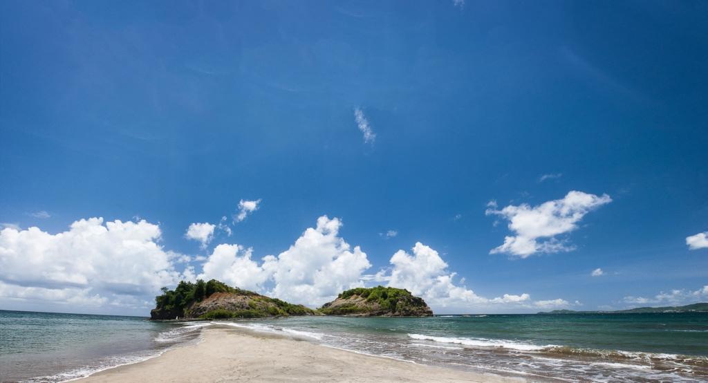 Schönsten Strände auf Martinique: Le Tombolo