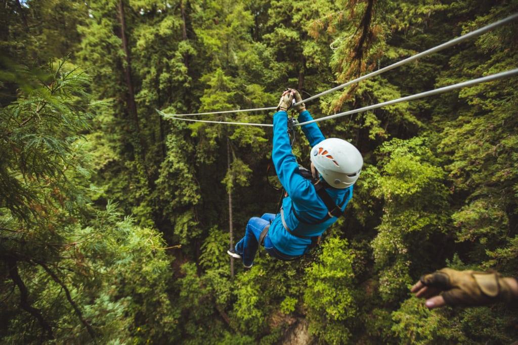 Ziplines im Mount Hermon Adventures Abenteuerpark