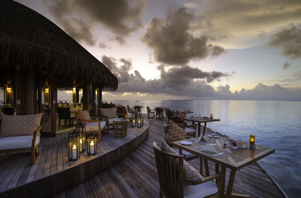 Restaurant Muraka im Mirihi Island Resort