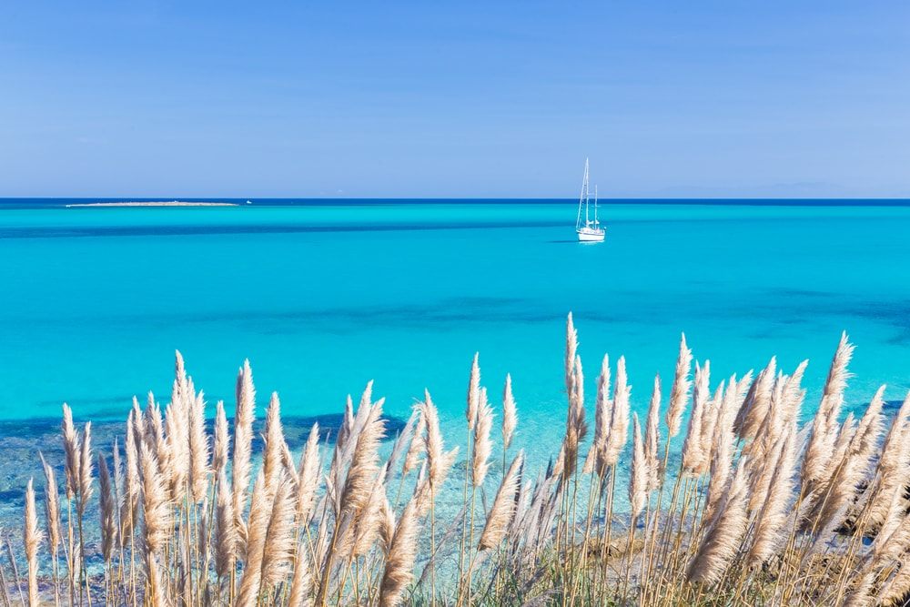 Pelosa Beach auf Sardinien
