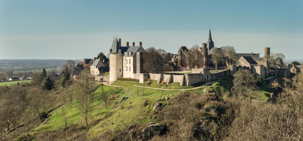 Sainte-Suzanne in Frankreich