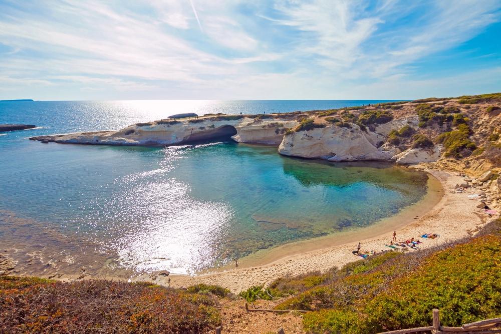 Santa Caterina Strand in Sardinien