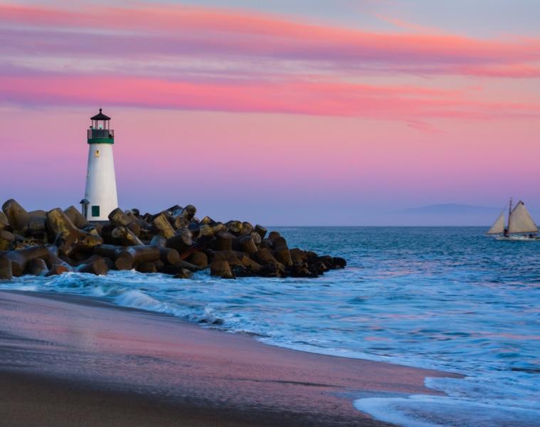 Leuchtturm in Santa Cruz
