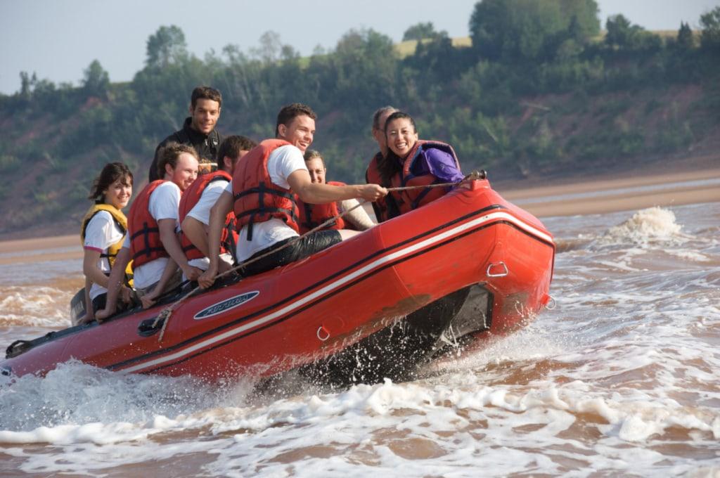 Rafting auf dem Shubenacadie River