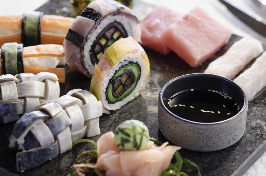 Sushi im Mirihi Island Resort