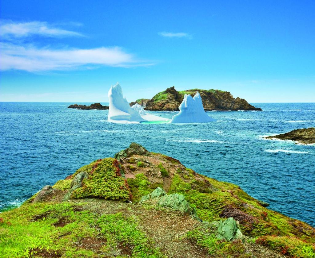 Eisberg vor der Küste Neufundlands
