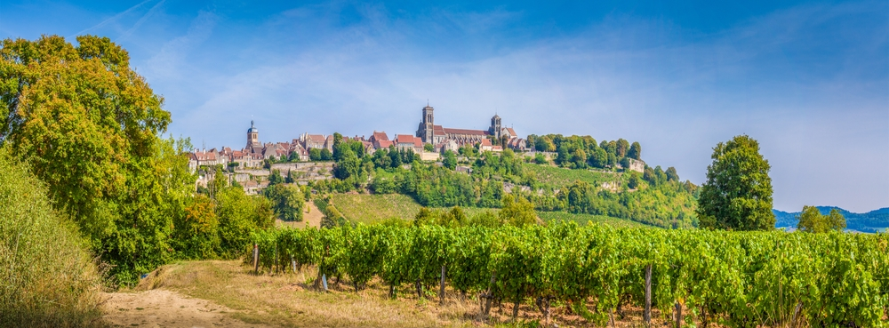 Vezelay in Frankreich
