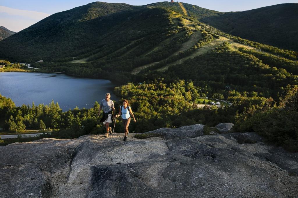 Artist's Bluff in New Hampshire