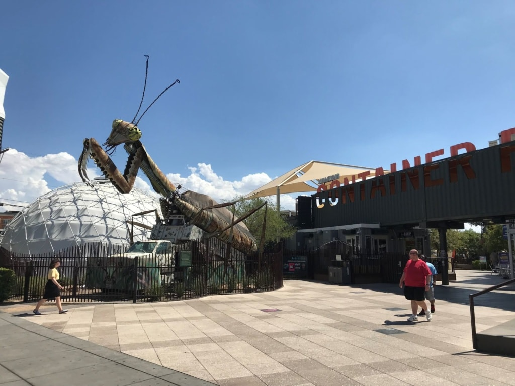Las Vegas mit Kindern: Container Park in Las Vegas