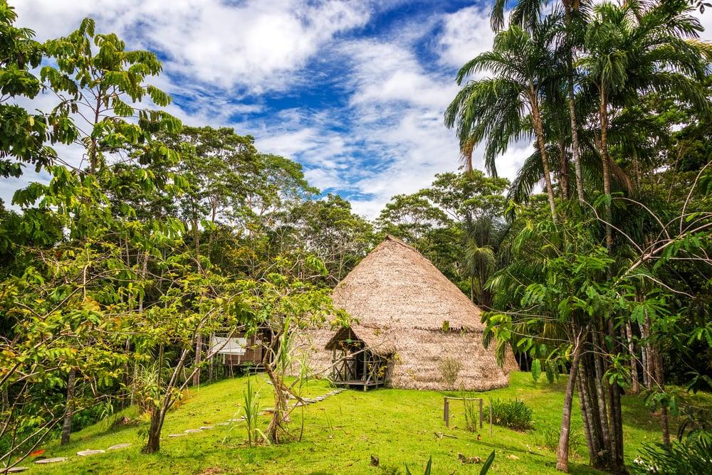 Eine Lodge mitten im Regenwald des Amazonas
