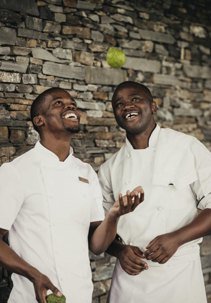 Köche im One&Only Nyungwe House, Ruanda
