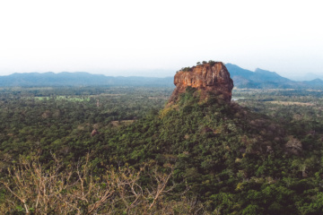 Sehenswürdigkeiten in Sri Lanka: Sigiriya Lion's Rock