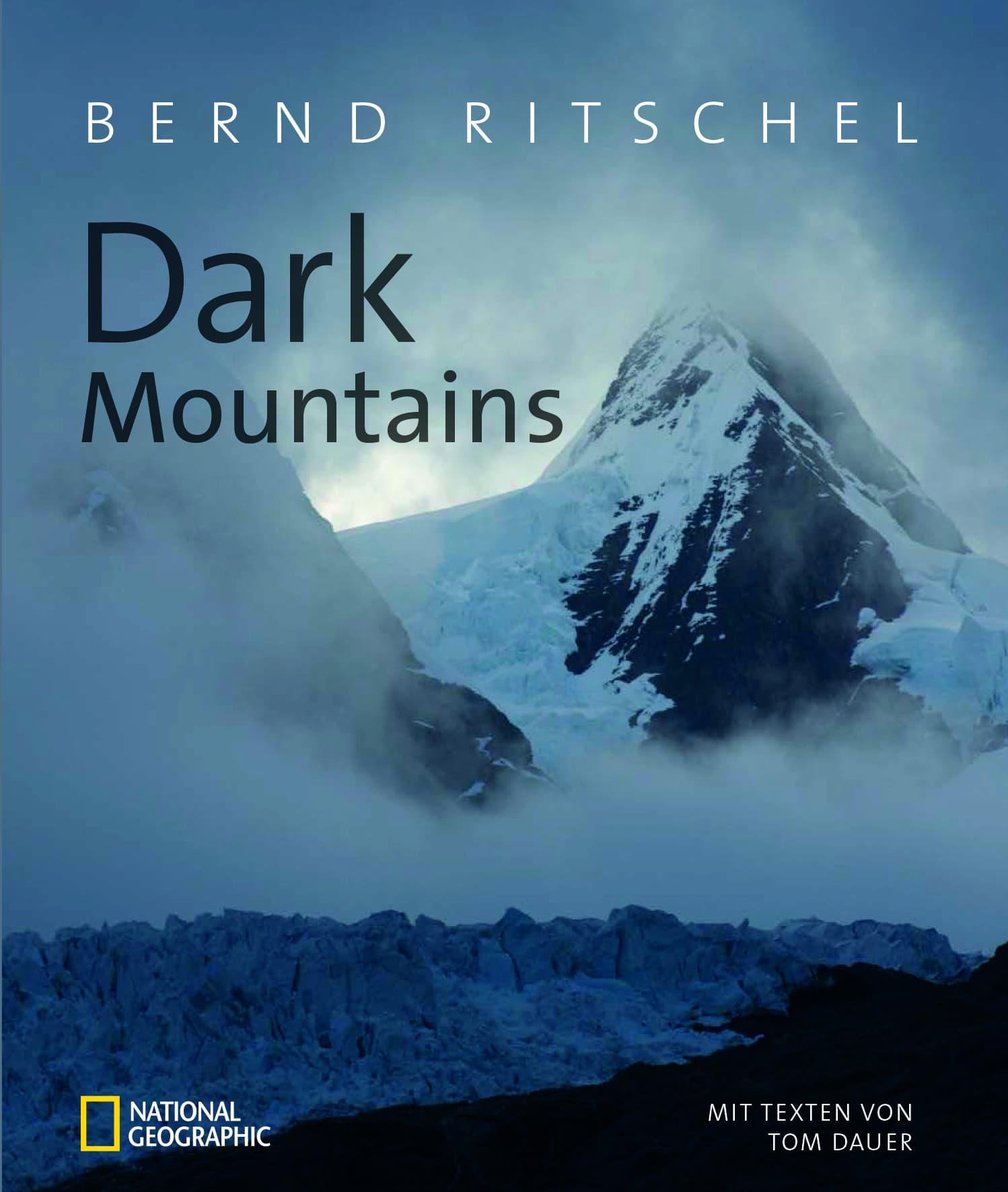 Buchcover Bildband Dark Mountains von Bernd Ritschel