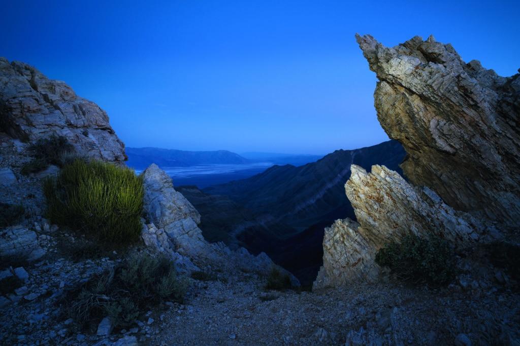 Aguere View Point im Death Valley im US-amerikanischen Bundesstaat Kalifornien