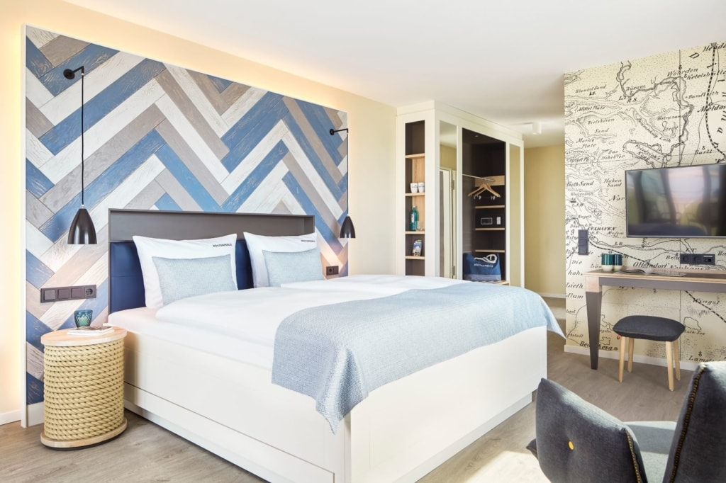 Doppelzimmer im Küstenperle Strandhotel & Spa