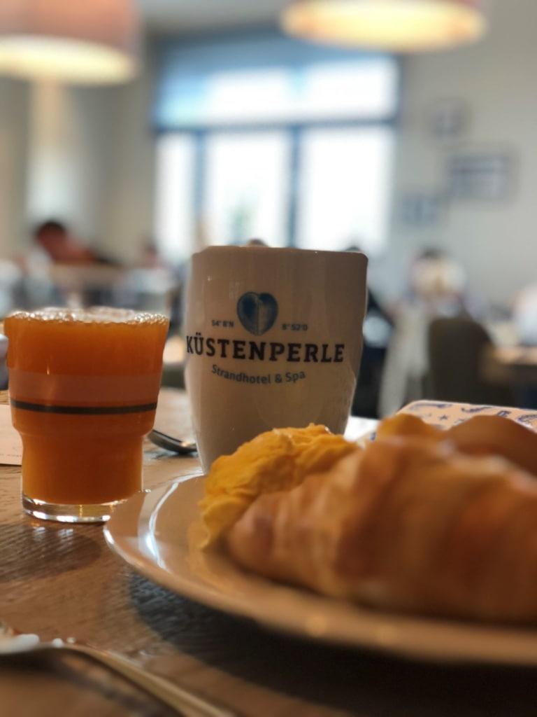 Frühstück im Küstenperle Strandhotel & Spa