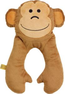 Abogeschenk Go TRAVEL Kinder Nackenkissen Affe