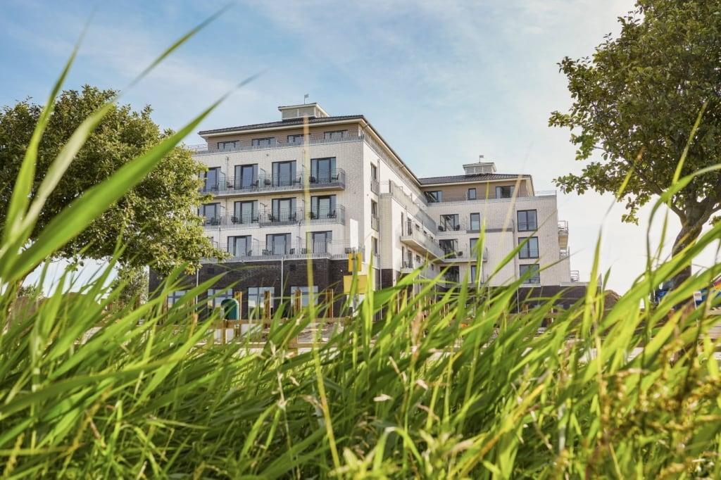 Außenansicht des Küstenperle Strandhotel & Spa