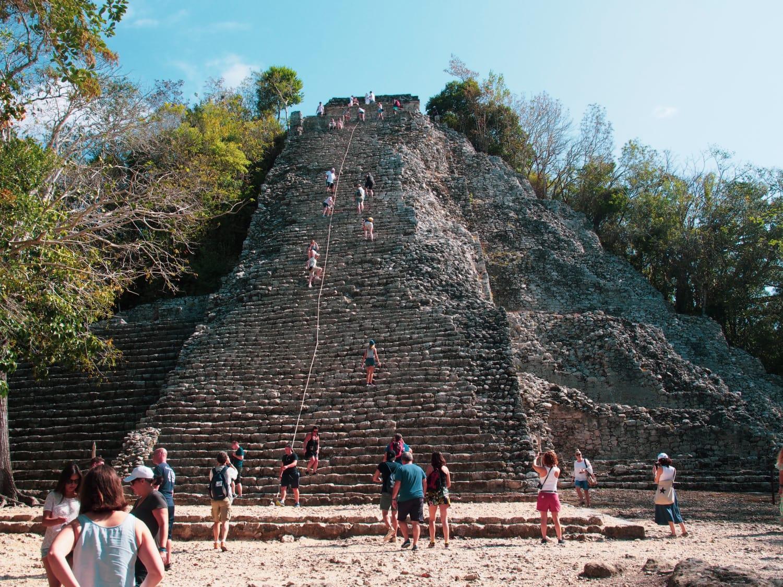 Mayastätte Cobá in Yucatán
