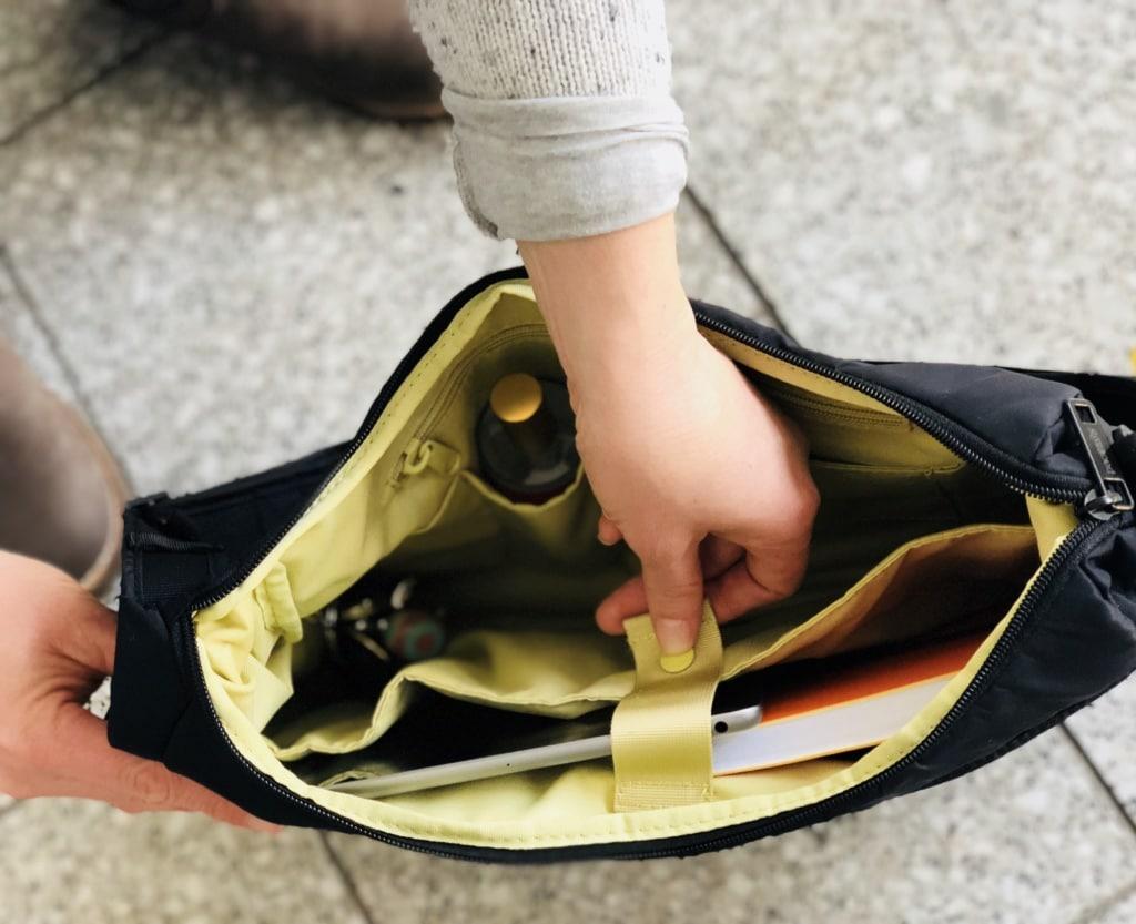 Mit Pacsafe sind alle Wertsachen gut verstaut beim Städtetrip.