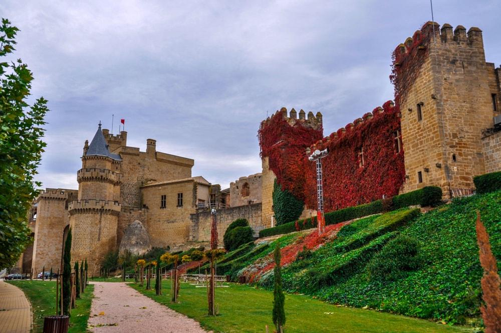 Palacio Real de Olite in Navarra