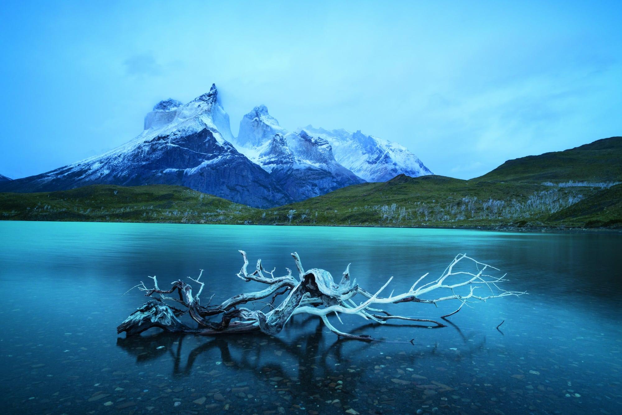 Der Lago Nordenskjöld in Patagonien, Chile
