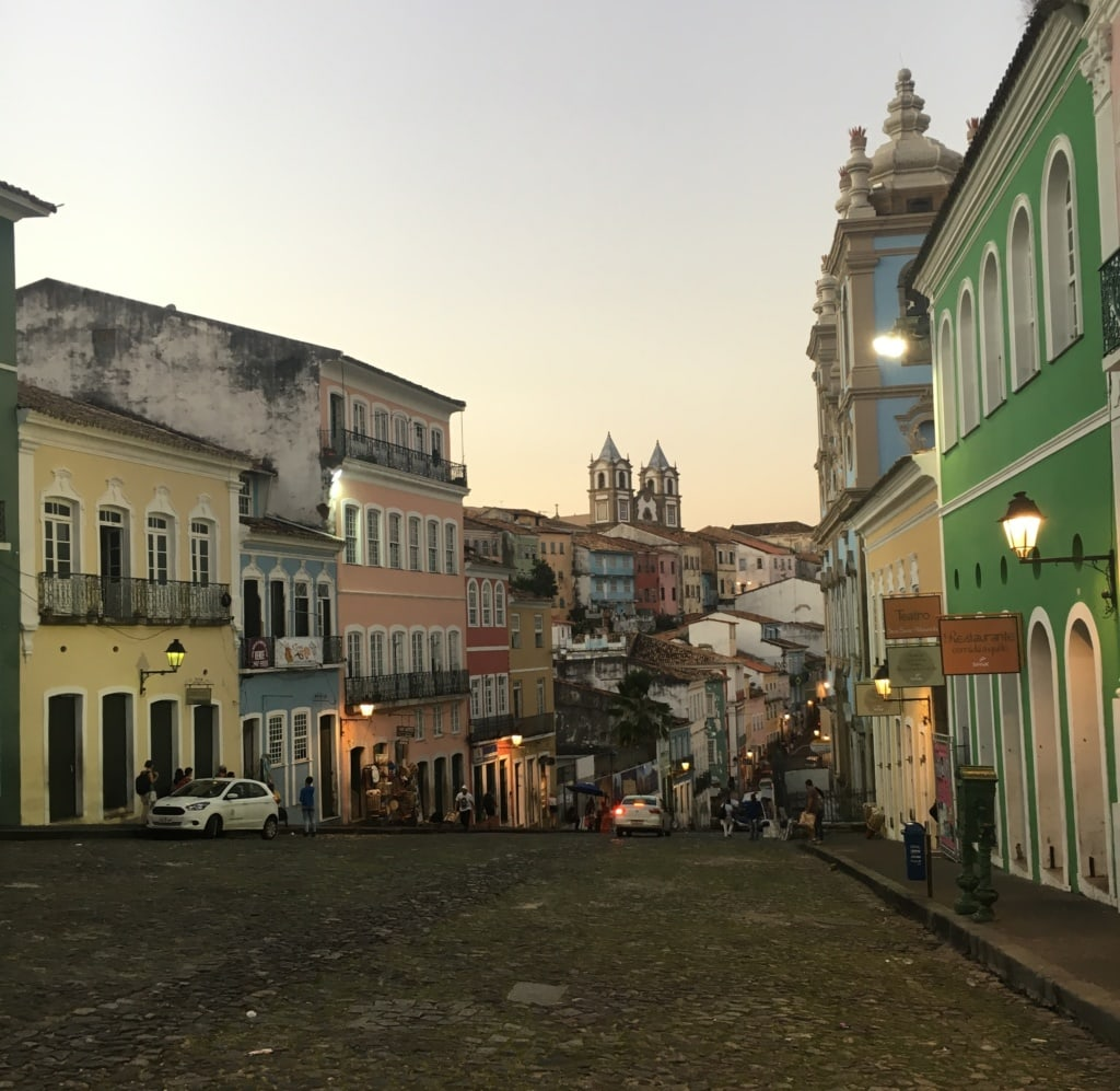 Pelourinho in Salvador da Bahia