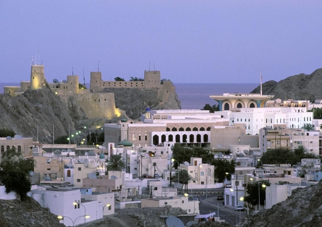 Stadtansicht von Muscat