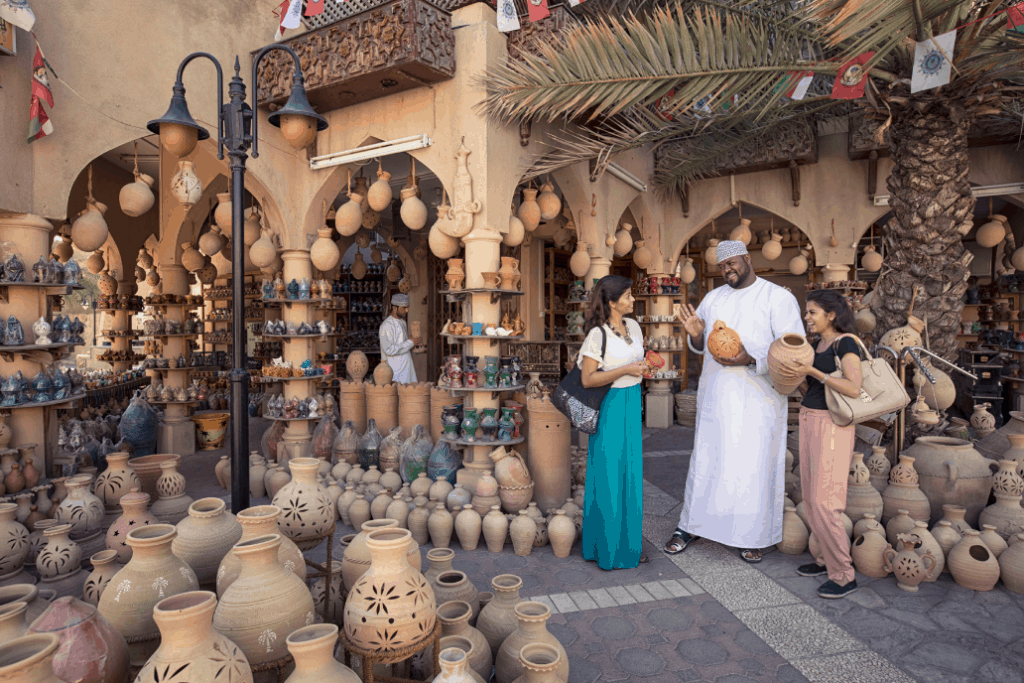 Nizwa Souk im Oman