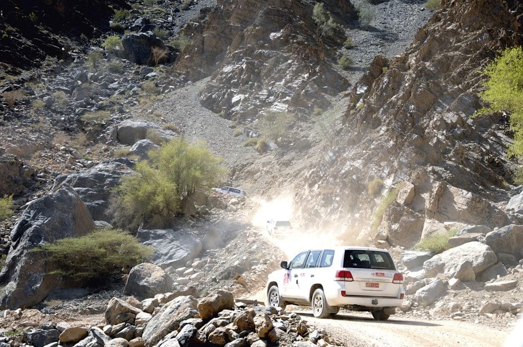 Offroadtour im Oman
