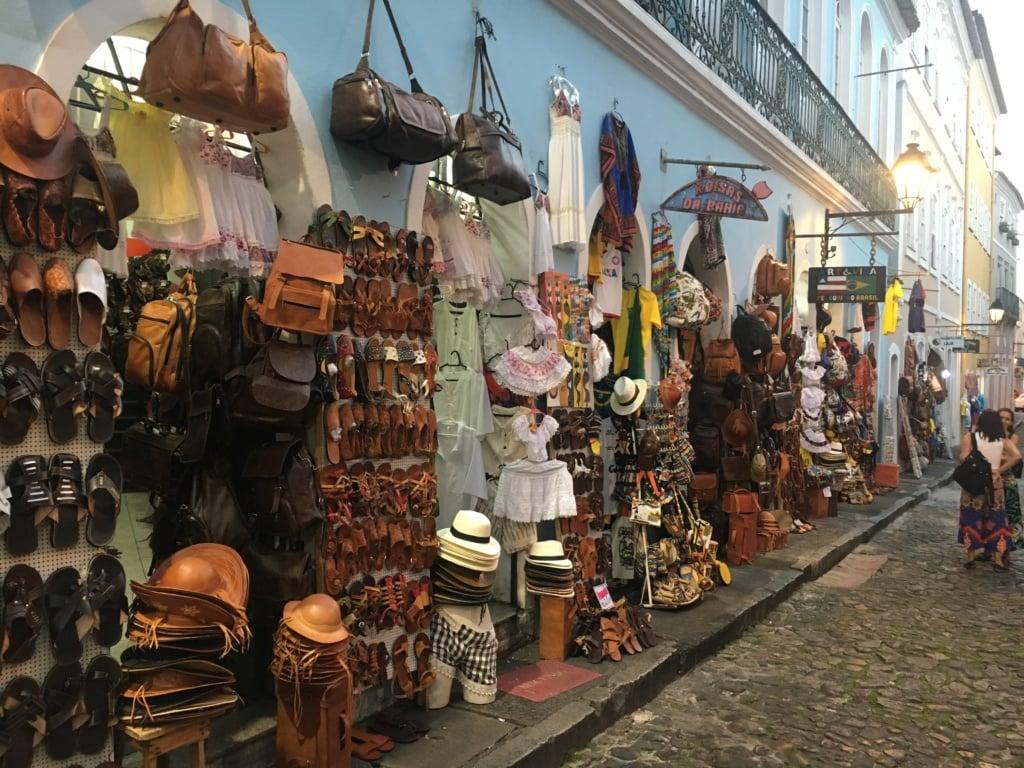 Souvenir-Shop in Salvador da Bahia