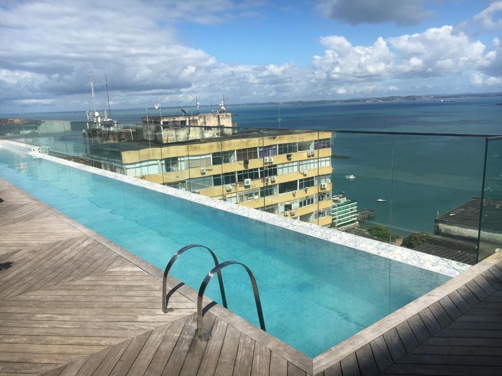 Swimmingpool im Fera Palace Hotel in Salvador da Bahia