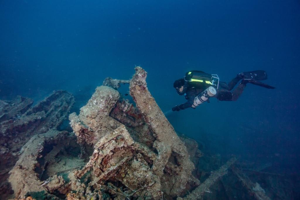 Das gesunkene Kriegsschiff vor Vanuatu ist das größte Schiffswrack der Welt und ein Paradies für Taucher!