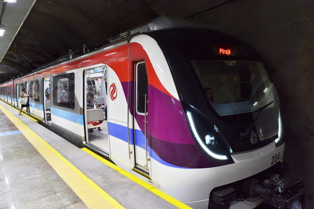 Metro-Bahn in Salvador
