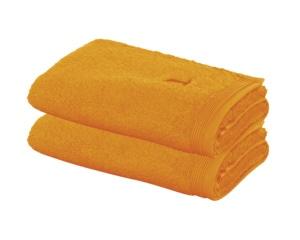 Abogeschenk Möve Handtücher im Doppelpack saffron